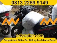 Pengiriman Januari 2020 Silica Gel 200 kg ke Jakarta Barat   Jual Silica Gel 500 gram