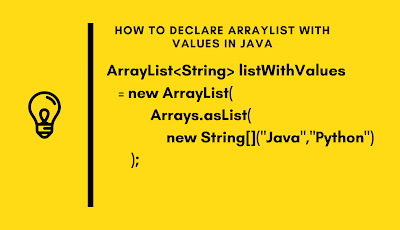 How to create and initialize List in one line in Java with Array