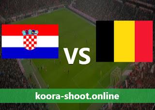 بث مباشر مباراة بلجيكا وكرواتيا اليوم بتاريخ 06/06/2021 مباراة ودية