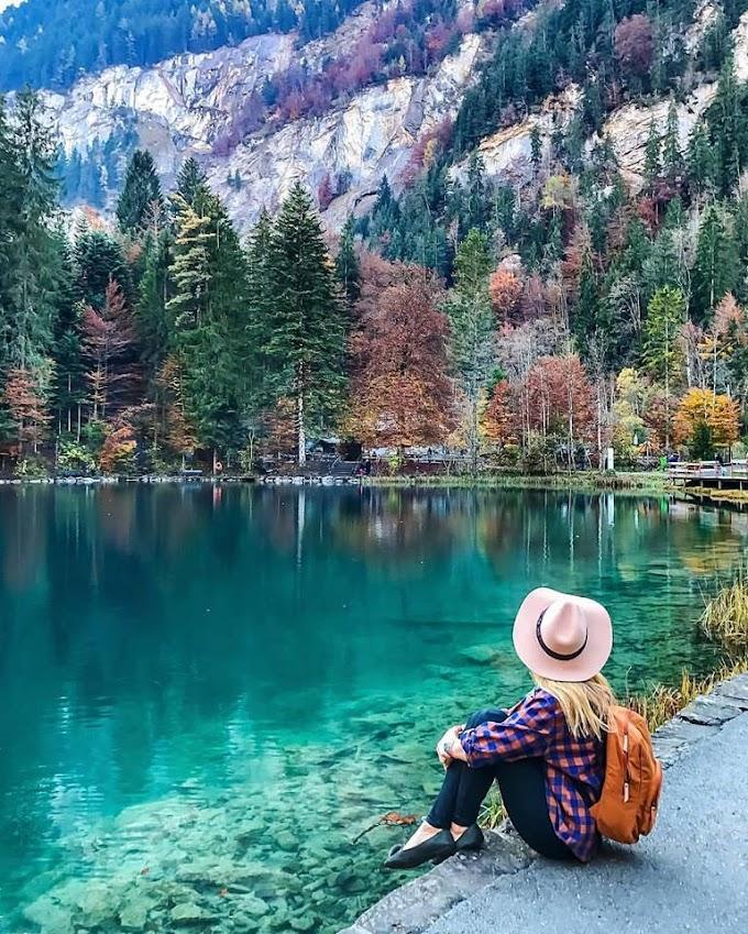 "Блаузее (""Синьото езеро""), Швейцария"