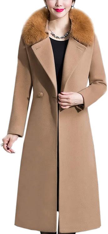 Faux Fur Collar Jackets Coats For Women