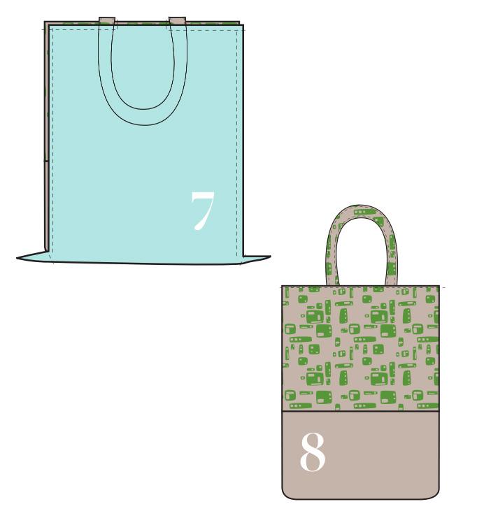 Mini Tote Bag Tutorial