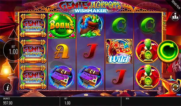 Main Slot Gratis Indonesia - Genie Jackpots Wishmaker (Blueprint Gaming)