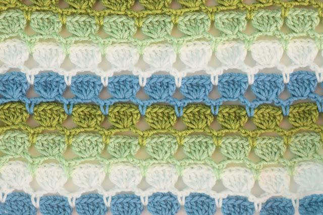 6 - Crochet Imagen Puntada de colores para blusas de verano a crochet y ganchillo por Majovel Crochet