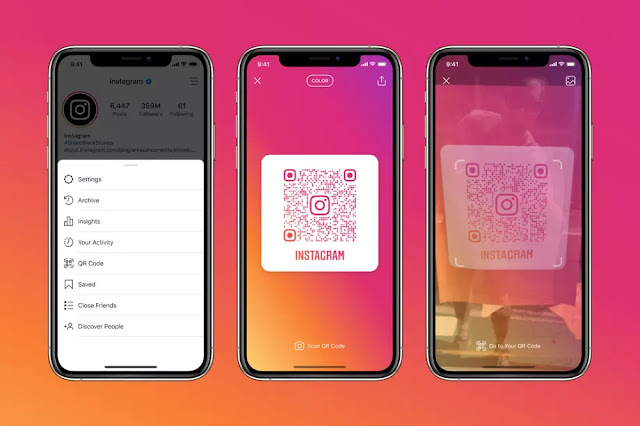 Instagram is launching in-app QR codes letting users open a profile from any camera app - qasimtricks.com
