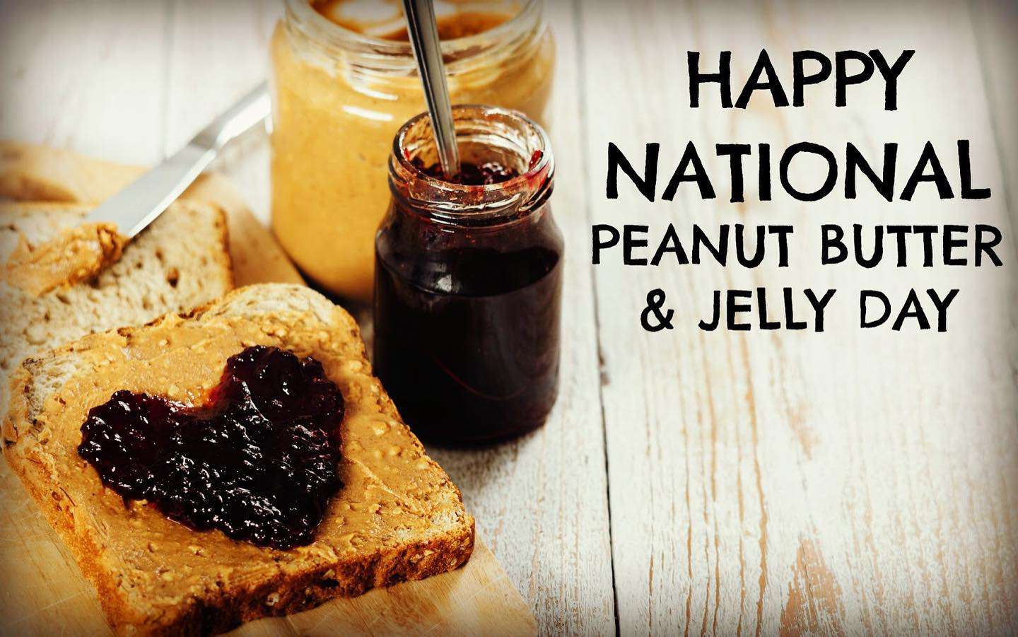 National Peanut Butter and Jelly Day Wishes Awesome Picture