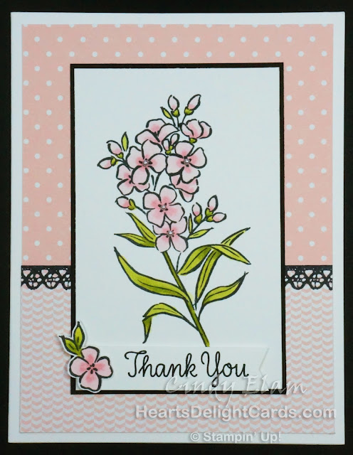 Southern Serenade, Occasions 2018, Stampin' Up!, Thanks, Thank You