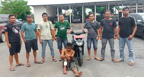 Satu Lagi Pencuri Dum Truck Didor Polres Lombok Timur