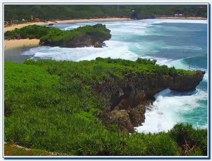 Pantai Krakal Jogja
