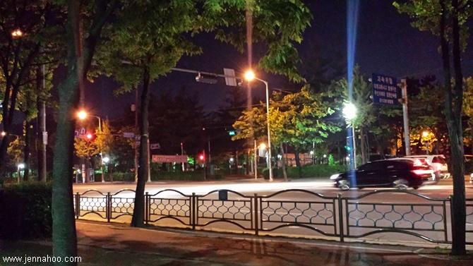 Saapuminen Koreaan - Bucheonin maisemia
