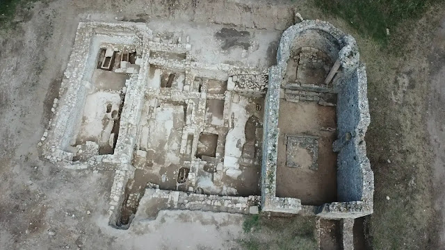 Unique 4th century cathedral emerges in Empúries (Girona)