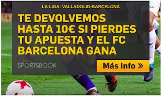 betfair promocion Valladolid vs Barcelona 25 agosto