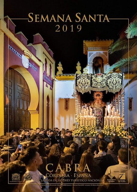 Cartel de la Semana Santa 2019 de Cabra (Córdoba)