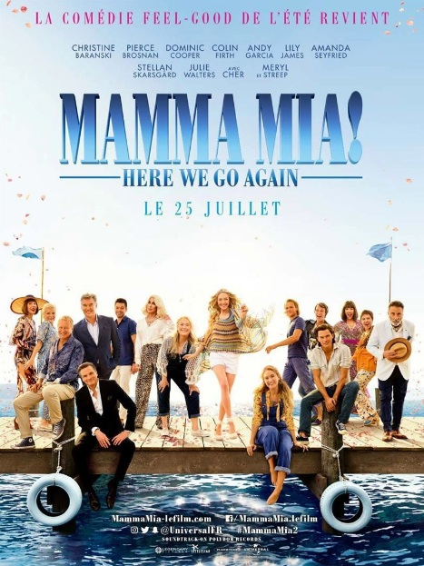 Mamma Mia! Here We Go Again [HDRip] [Streaming] [Telecharger]