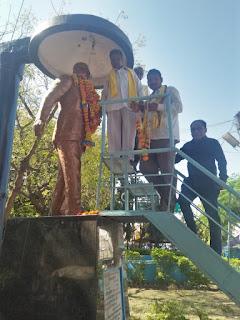 भारतीय गोंडवाना पार्टी ने मनाया महा परि निर्वाण दिवस