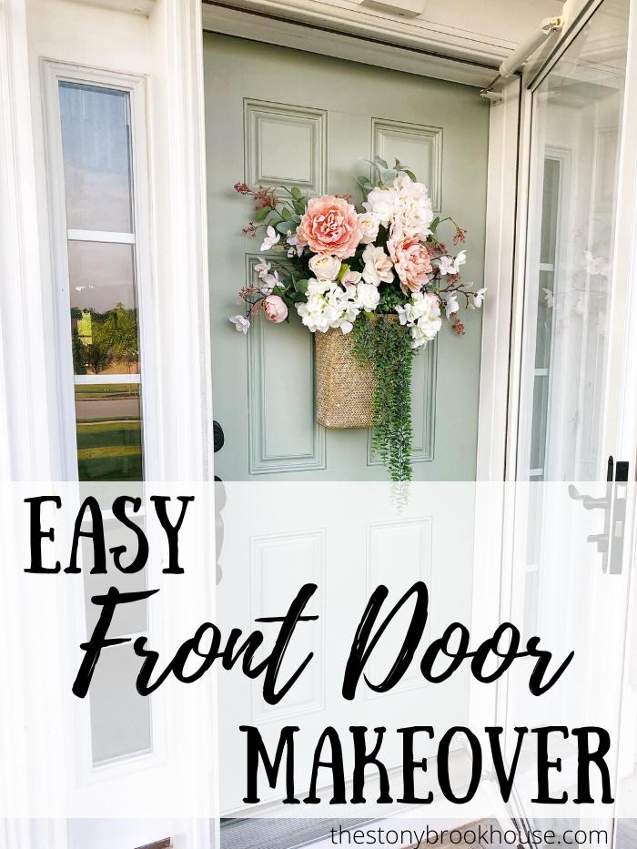 Easy Front Door Makeover