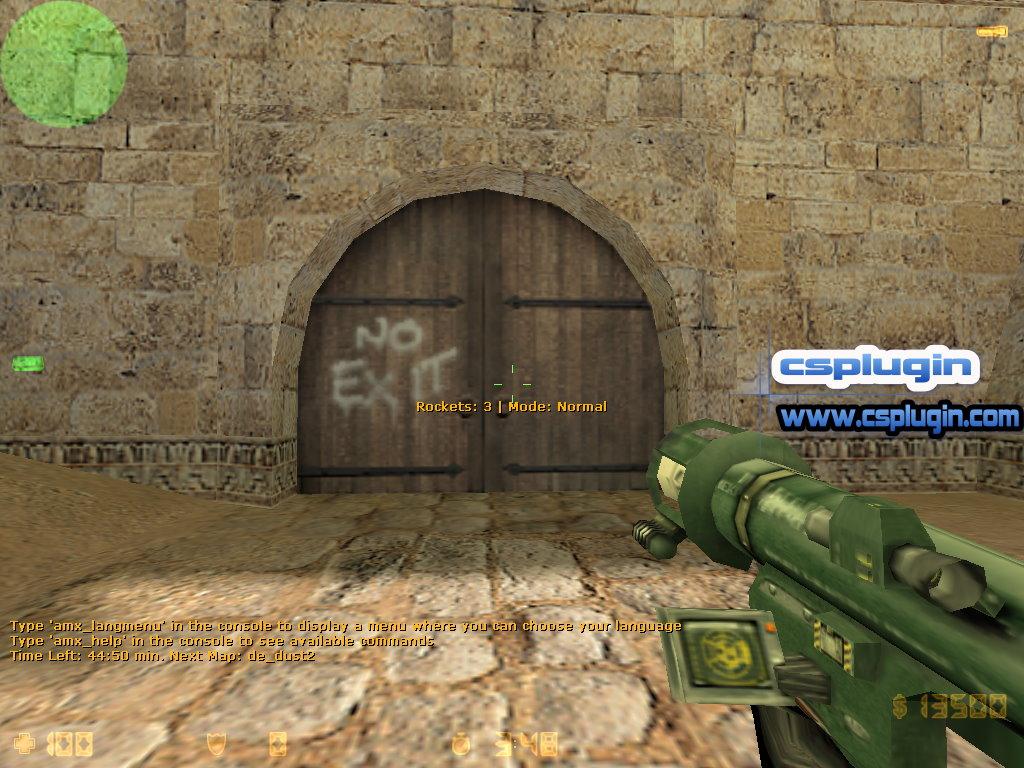 CS 1 6 Bazooka V 2 2 1 - Counter Strike Plugins