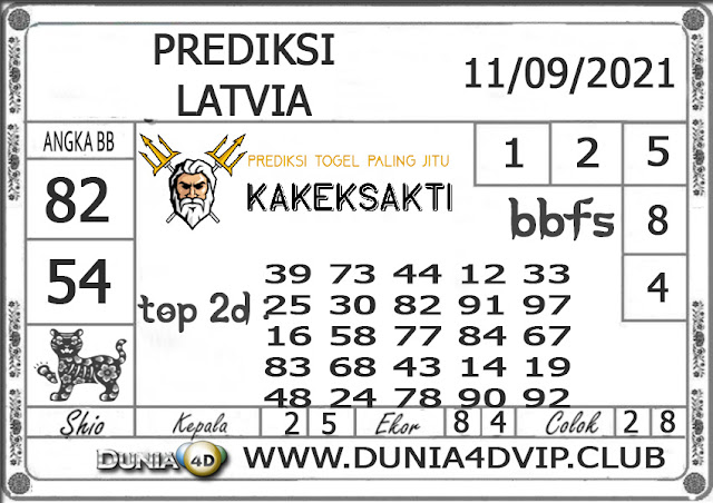 Prediksi Togel LATVIA DUNIA4D 11 SEPTEMBER 2021