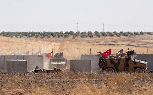 Συρία: Οι κοινές περιπολίες ΗΠΑ-Τουρκίας παραβιάζουν την κυριαρχία της χώρας