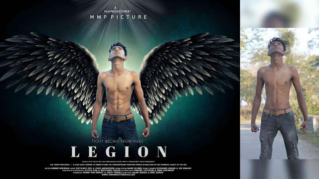 Picsart Legion Action Movie Poster Editing Tutorial