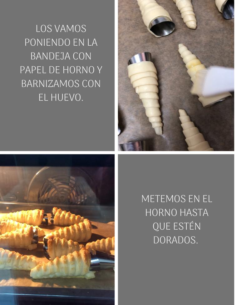 preparación-de-canutillos-de-hojaldre-rellenos-de-crema-pastelera