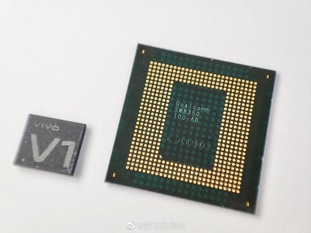 Chip ISP Vivo V1 vs Snapdragon 888