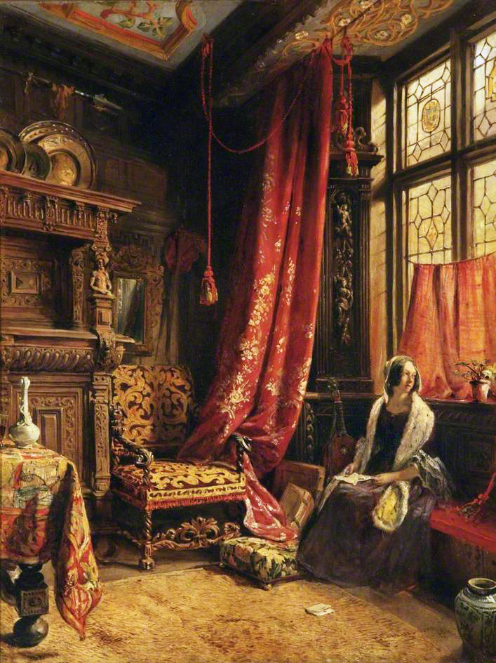 Antique Interior Design: Victorian British Painting: A Wealth Of Williams