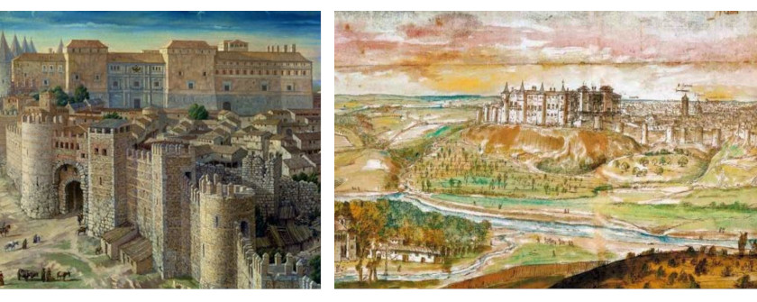 Dibujo Madrid antiguo