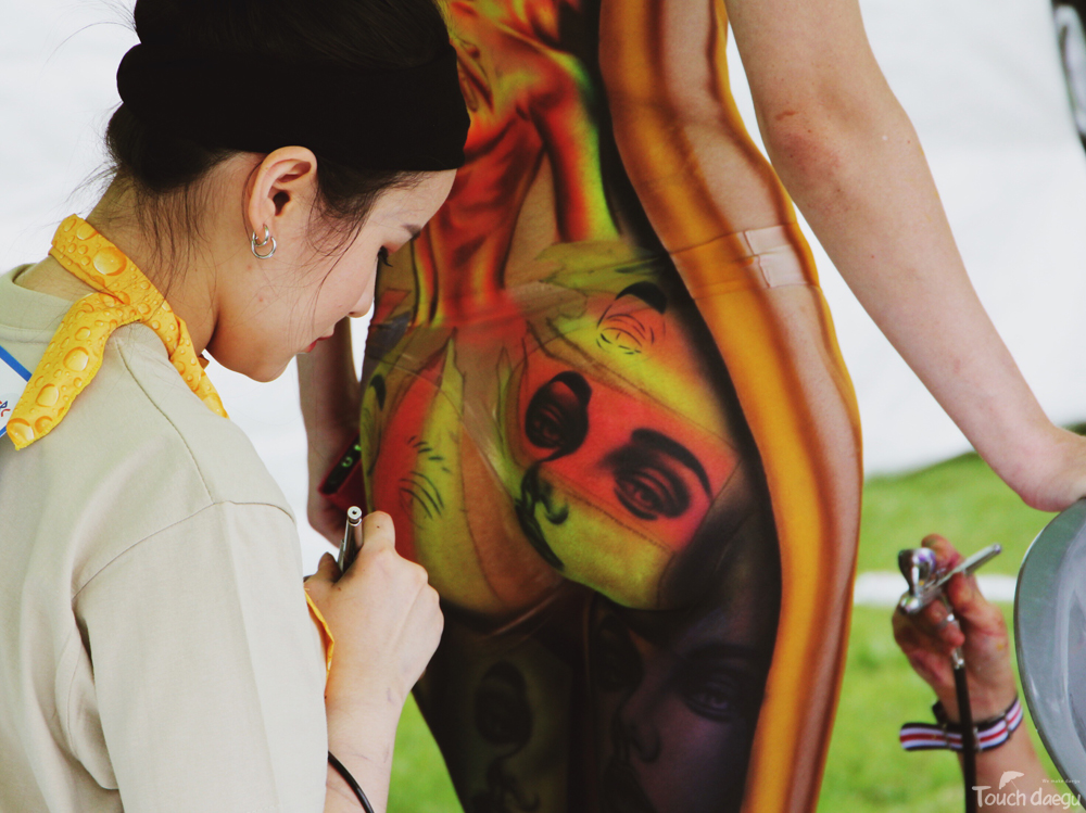 Living Art 2018 Daegu International Body Painting Festival