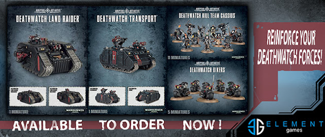 Element Games: Games Workshop Deathwatch Boxed Sets - Discounted Pre-Order