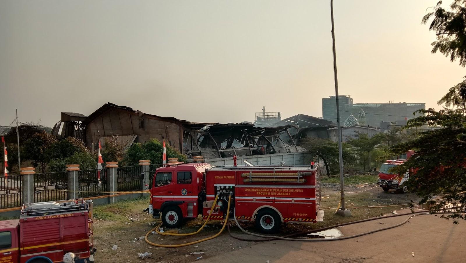 Kebakaran Pabrik Mebel Cakung