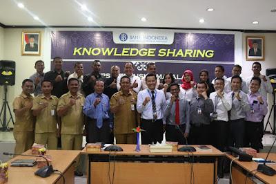 Diskominfo dan Persandian Kota Ambon Presentasikan Majalah Tabea ke BI Maluku