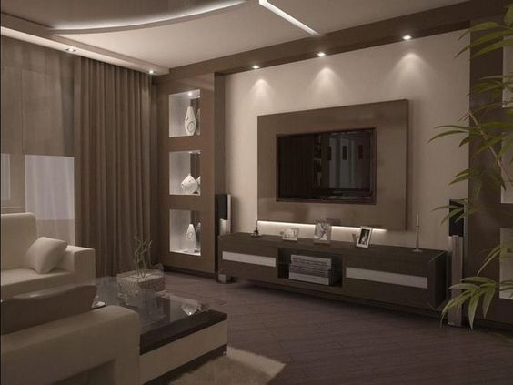 Best Wall Niches Designs With Indirect Lighting For Living