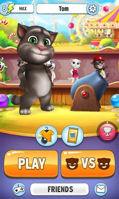 Talking Tom Bubble Shooter Mod+Apk v1.3.2.741 (Unlimited All)