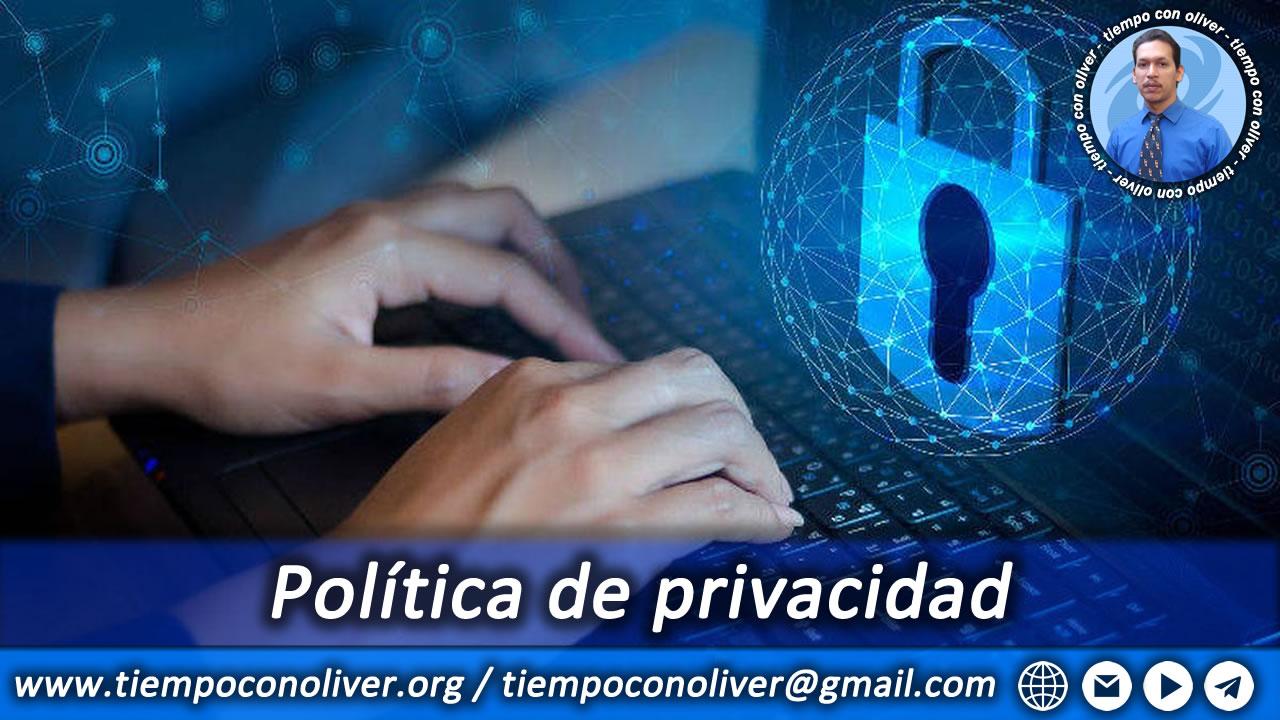 Nuestra politica de privacidad