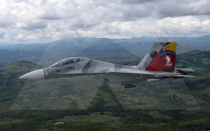 venezuela sukhoi su-30mk2 quinto aniversario bicentenario 5to ceo dir 119 camuflaje aaet