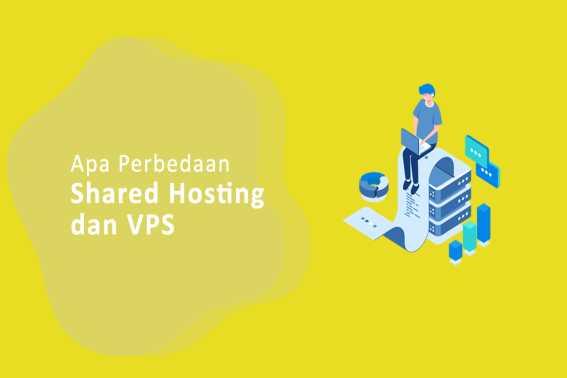 Perbedaan Shared Hosting dan VPS