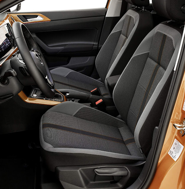 Novo VW Polo 2018 - interior - espaço interno