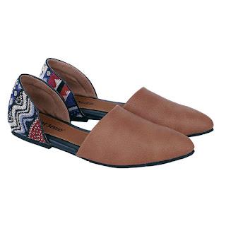Sepatu Flat Wanita Catenzo AK 834