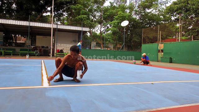 Siap Hadapi Friendly Match, Pelti Kota Kediri Renovasi Lapangan