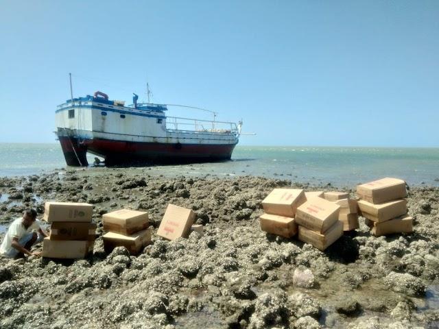 PF deflagra operação para investigar furto de embarcação no litoral do PI