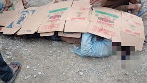 Pria Paruh Baya Tewas Terlindas Truk Pembawa Ayam di Sukatani
