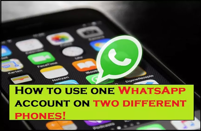 How to use one WhatsApp account on two different phones | Whatscan Pro App!