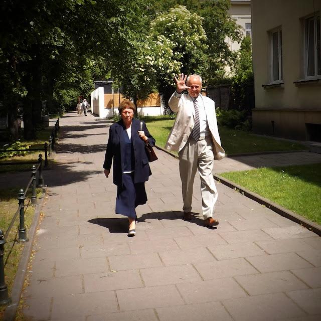 Śp. Prof. Maria Dzielska, śp. mgr inż. Andrzej Ossowski