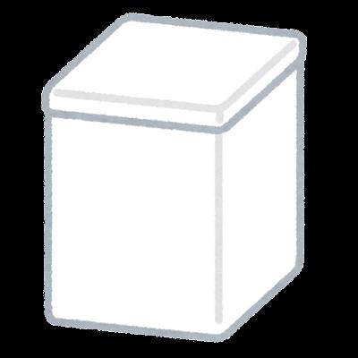 サニタリーボックスのイラスト