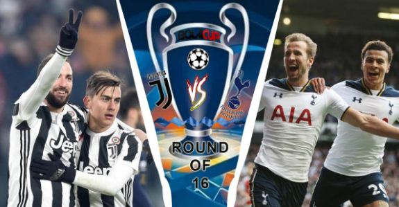 Head to Head Juventus vs Tottenham Hotspur
