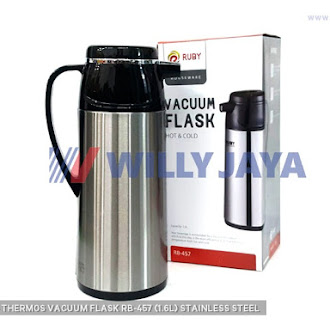 RUBY - THERMOS/ VACUUM FLASK RB-457 (1.6L) STAINLESS STEEL