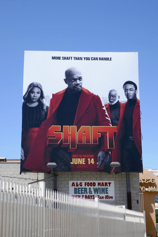 Shaft movie billboard
