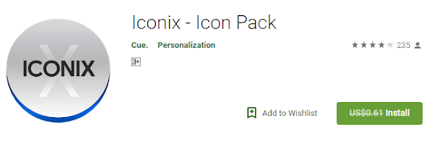 Iconix icon pack