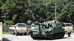 Sư đoàn bộ binh số 3 của Quân đội Hoa Kỳ nhận pháo Tank M109A7 mới